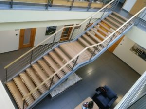 Bukové schodové stupně